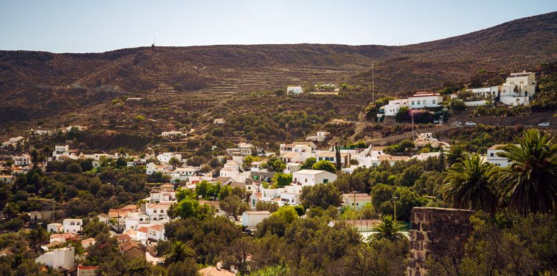 The village of Temisas, known for it's production of olive oil. Photo: Clèment Morin