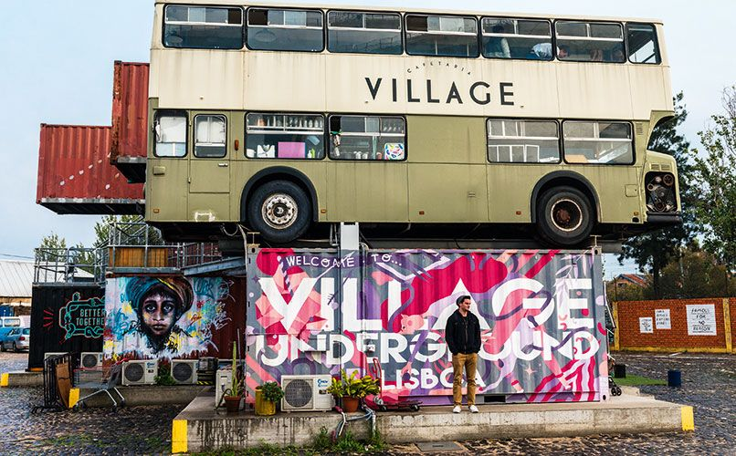 With Village Underground, Mariana Duarte Silva has tried to replicate in her home city what she loved about London's Shoreditch. Photo: Mauro Rongione