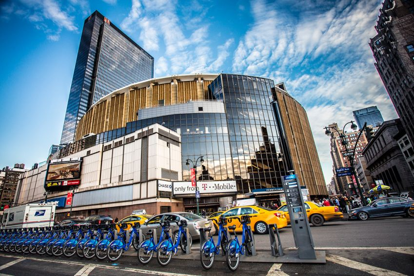 Madison Square Garden In New York. Photo: Shutterstock