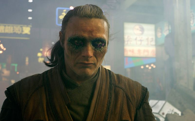Mads Mikkelsen in Doctor Strange. Photo: IBL / Alloverpress