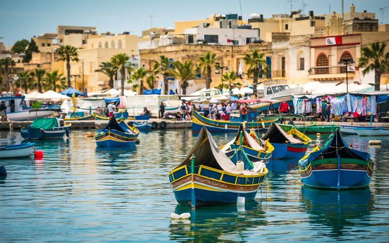 Marsaxlokk in Malta Photo: Shutterstock