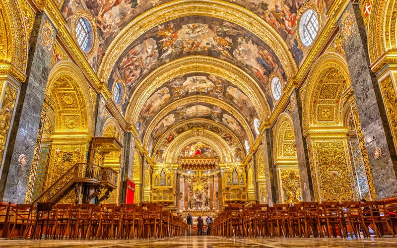 St John's Co-Cathedral. Foto: Shutterstock