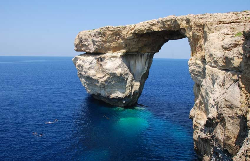 Azure Window on Gozo. Photo: Shutterstock