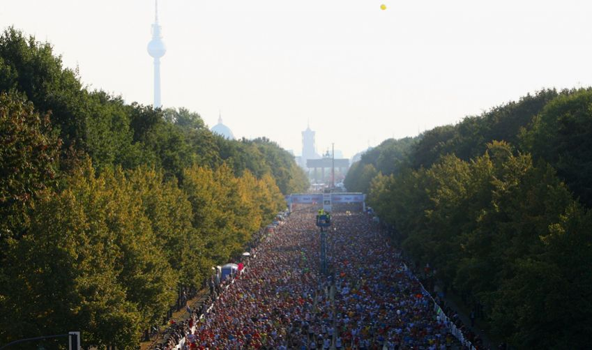 Berlin Marathon. Photo: Getty Images