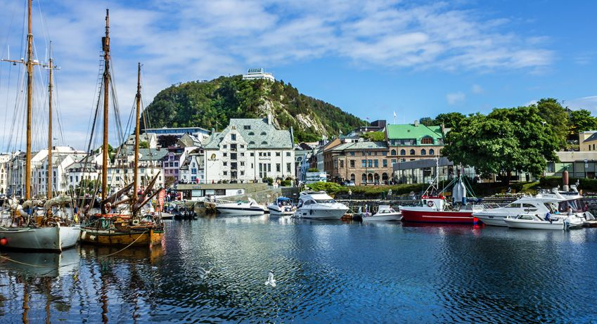 The town of Ålesund. Photo: Shutterstock