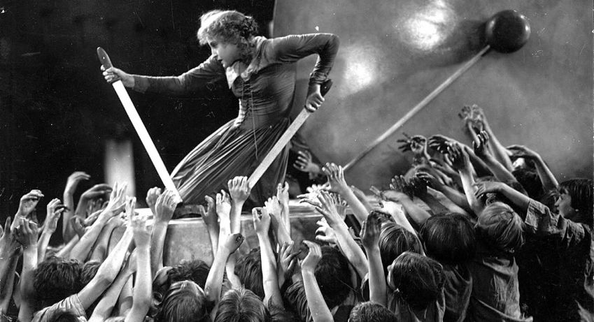 Metropolis , the mother of sci-fi films.