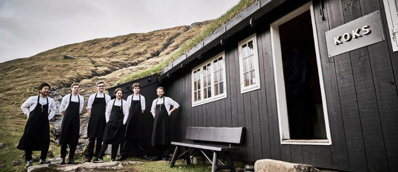 Restaurant KOKS on the Faroe Islands.