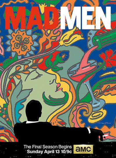 Glaser is the man behind the Mad Men logo.