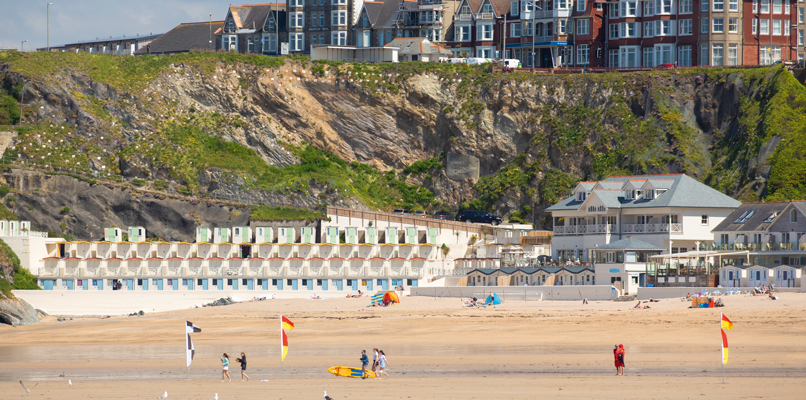 Cornwall's spectacular beaches attract over 40 million visitors every year. Photo: David Clapp
