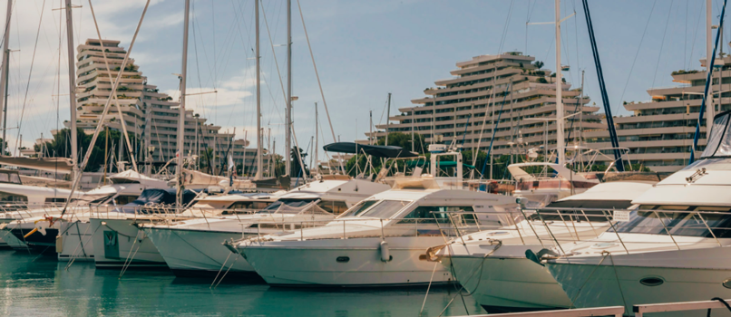 Take a quick break in Villeneuve-Loubet marina. Photo: Clément Morin
