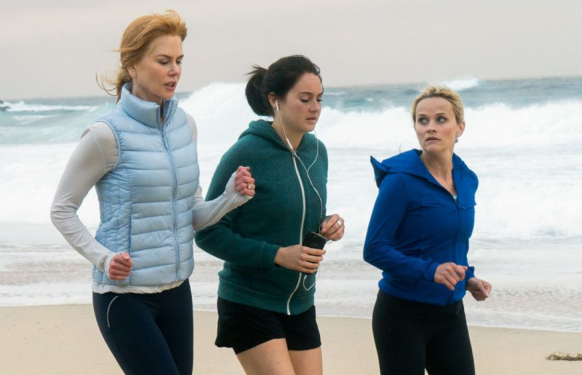 Nicole Kidman, Shailene Woodley and Reese Witherspoon. Photo: HBO Nordic
