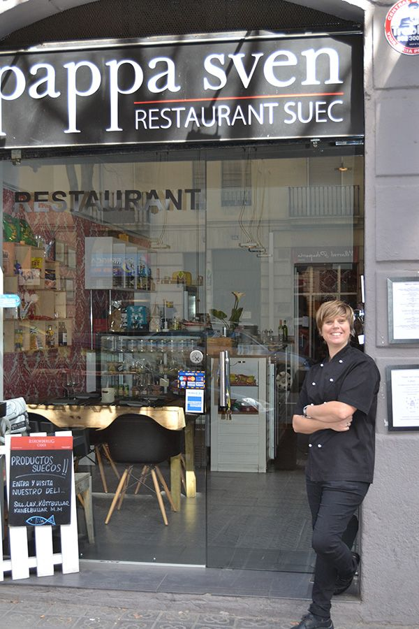 Nina Olsson is owner and head chef at Pappa Sven in Barcelona.