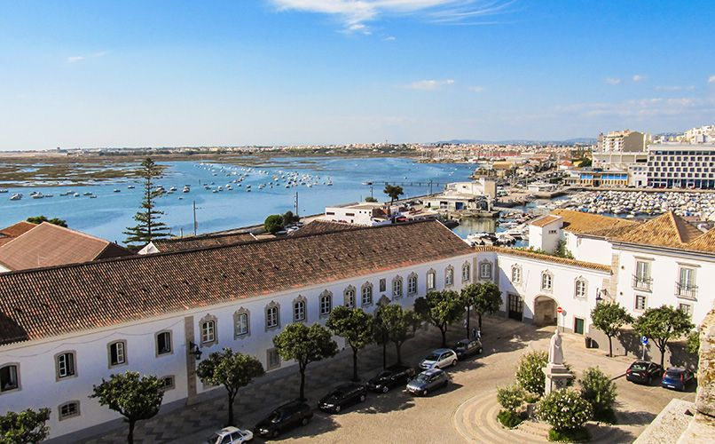 Gamle by i Faro, Portugal. Foto: Shutterstock