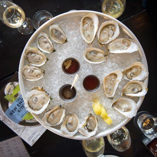 A selection of oysters. Photo: Niklas Gustafsson