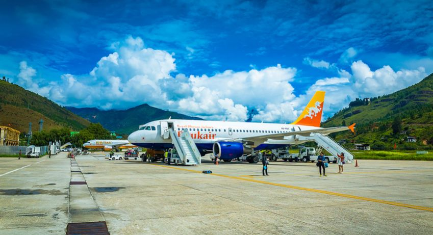 Only eight pilots in the world are certified to land at Paro Airport in Bhutan. Photo: Shutterstock