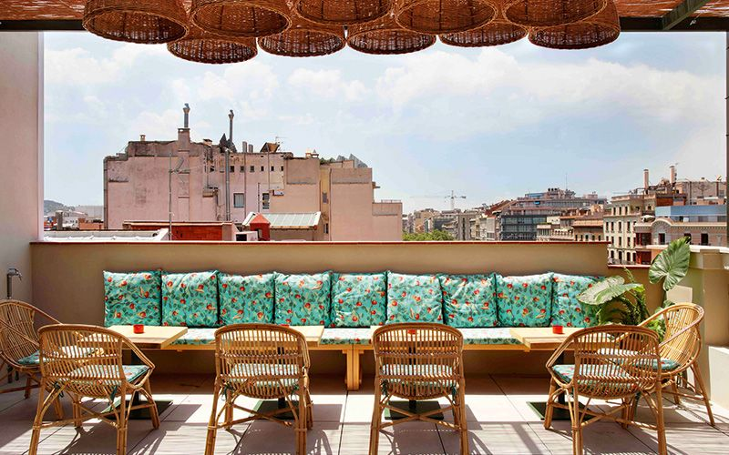 Views from the rooftop terrace at Casa Bonay. Photo: Metrixell Arjalaguer