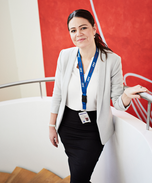 Camilla Gram, Head of Sales, Cargo, Skandinavien.