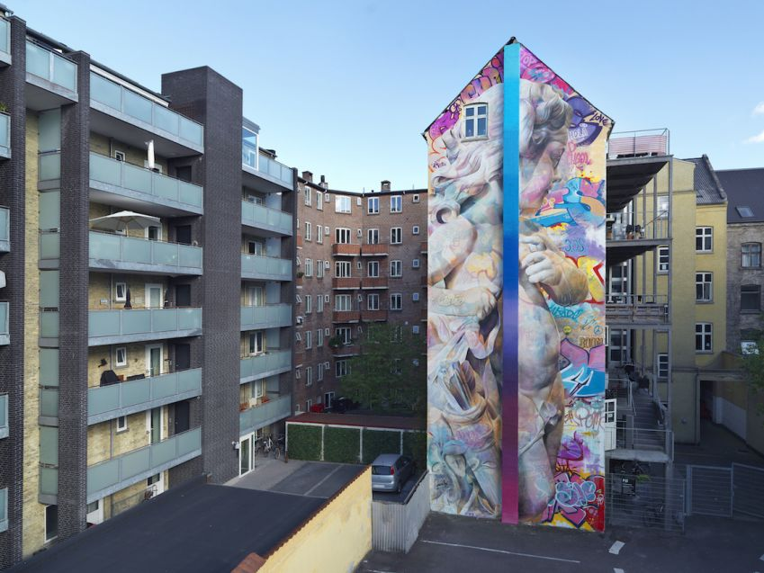 Mural by Spanish artist PichiAvo. Photo: Allan Toft
