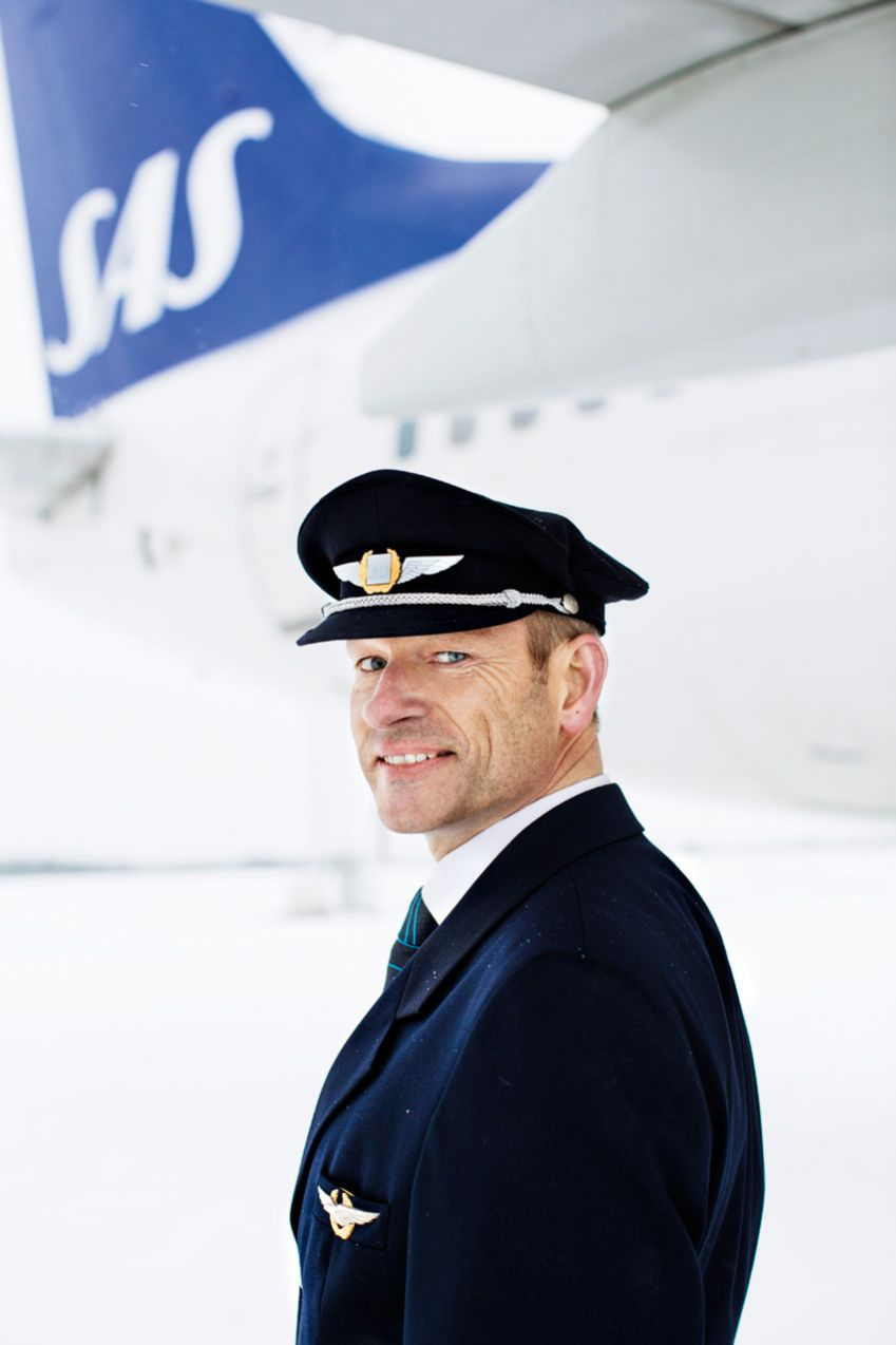 Ståle Blindheim, instructor, test pilot and captain at SAS. Photo: Monica Kvaale