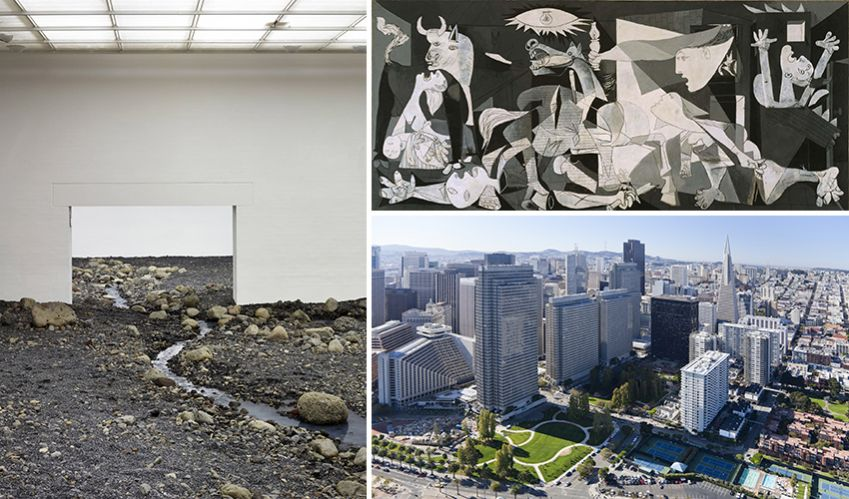 Louisiana Museum of Modern Art, Picasso's Guernica and San Francisco