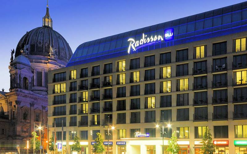Maybe your next stay is at the Radisson Blu on Alexanderplatz in Berlin? Photo: Radisson Blu