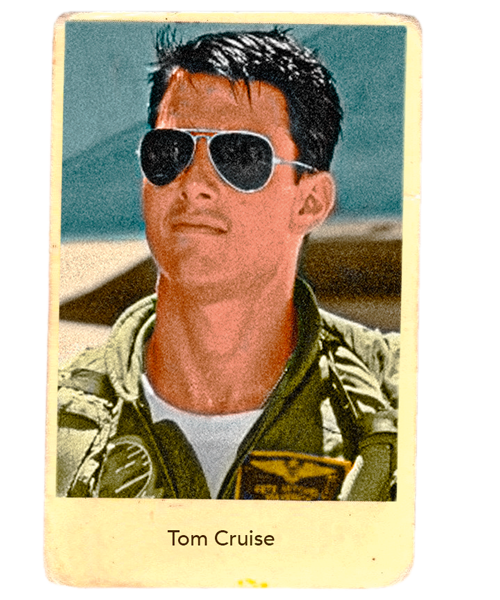 17b4e2b06 When Tom Cruise wore his gold-rimmed Ray-Ban Aviator sunglasses in the 1986  film Top Gun, he personified a cool, masculine hero.