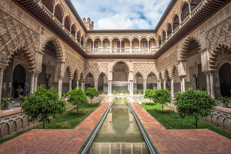 Real Alcázar de Sevilla dates back to the Middle Ages and is a UNESCO World Heritage Site. Photo: Shutterstock