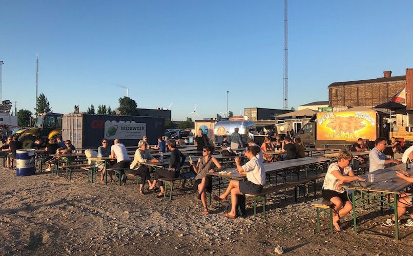 One of Refshaleøens new attractions is Reffen Street Food. Photo: Lise Hannibal