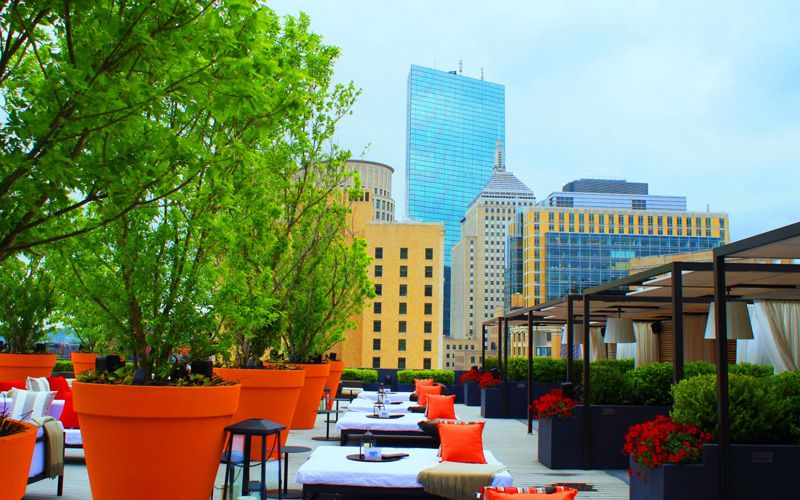 The rooftop bar at the Revere Hotel. Photo: Revere Hotel