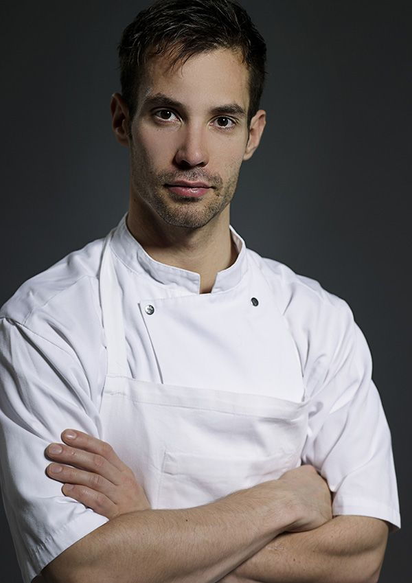 Danish chef Ronny Emborg works in Copenhagen.