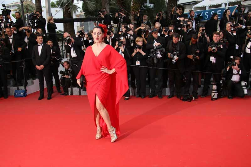 Actor Rossy de Palma photographed at the Cannes Film Festival. Photo: Denis Makarenko/Shutterstock