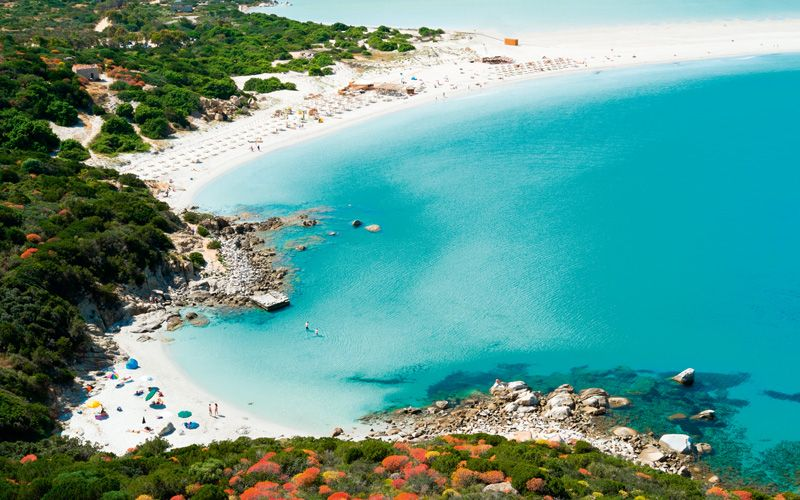 Sardinia offers some of the region's most seductive beaches and waters. Photo: Shutterstock