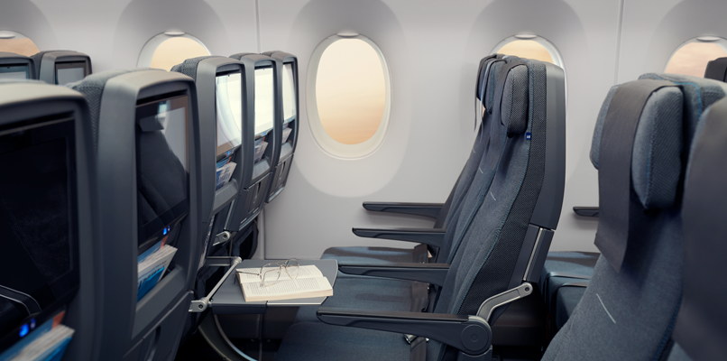 In SAS Go travelers can look forward to improved seats, better storage and a bi-fold tray table.