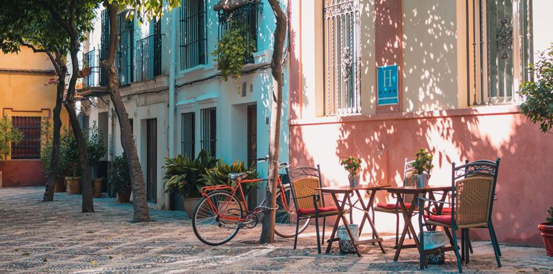 One of the best ways to explore Seville is on bike.