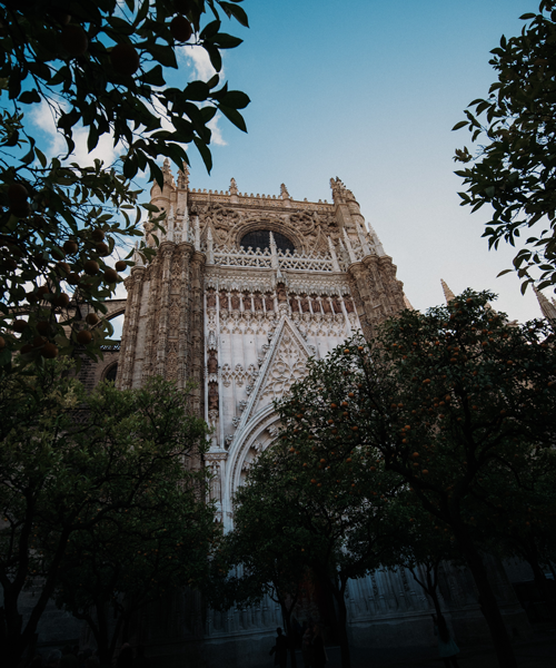 Cathedral de Santa Maria de la Sede is the world's largest Gothic cathedral. Photo: Reece Iverson