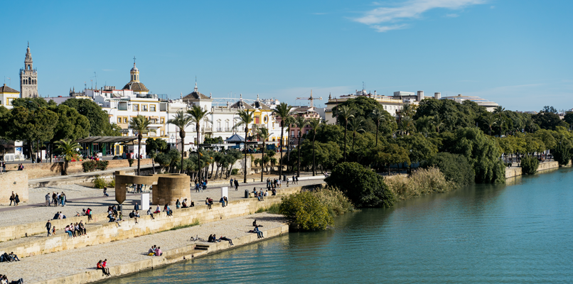 Sunny day in Sevilla. Photo: Reece Iverson