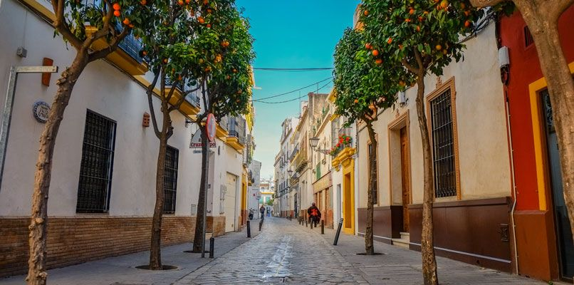 View of a street in Seville. Photo: Shutterstock