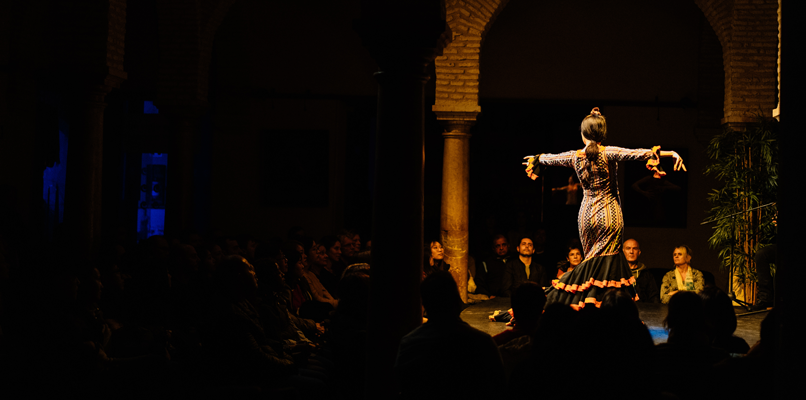Head to museo del baile flamenco to watch a show when you're in Seville.