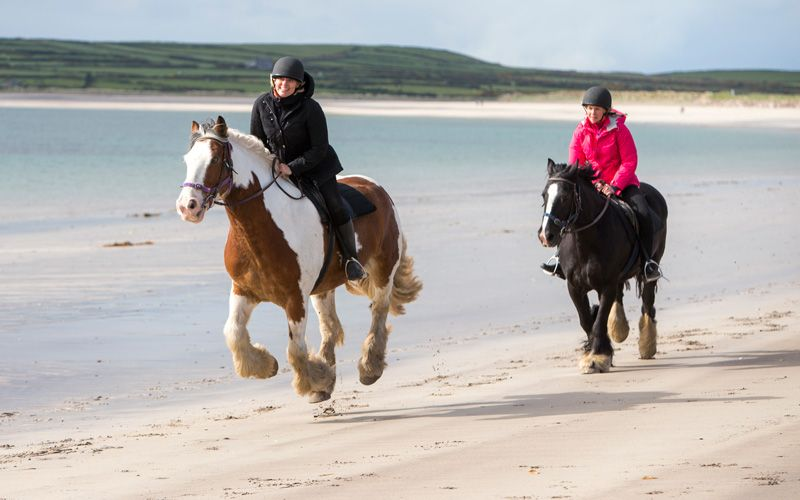 Try a gallop on Ventry Beach. Photo: Magnus Glans