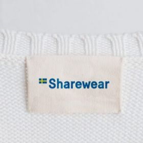 Sharewear label. Photo: Sharewear.se