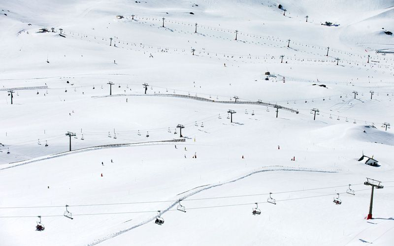 Sierra Nevada offers a large amount of pistes.Photo: Per Eriksson