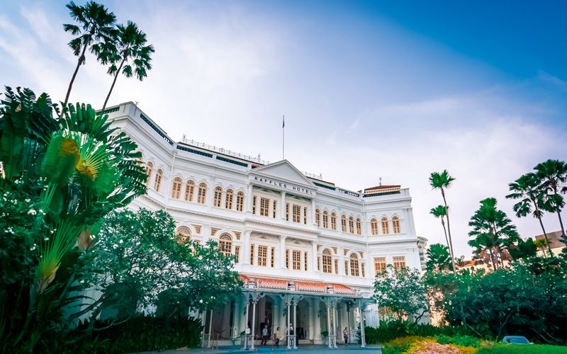 Raffles Hotel in Singapore Photo: Shutterstock