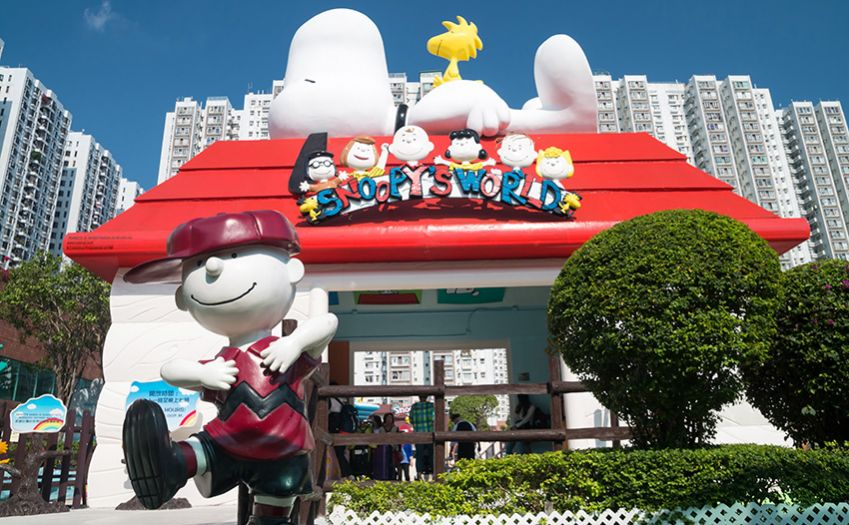 If you are a fan of Snoopy, this is the place for you! Photo: Shutterstock