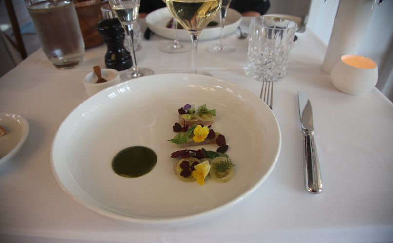 A starter at Strandhotellet. Photo: Lise Hannibal