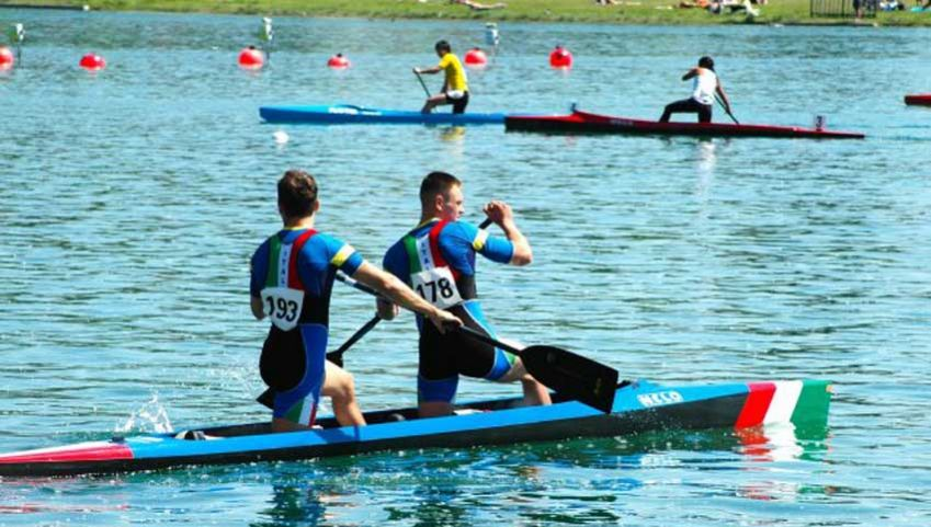 Canoe Sprint World Championships Milan. Photo: milanworldcanoesprint.com