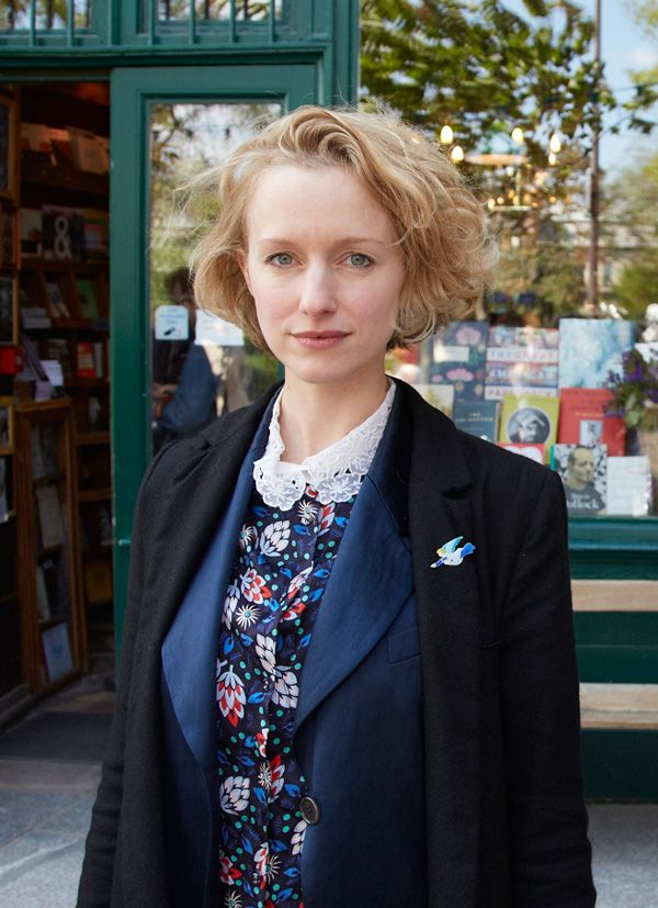 Sylvia Whitman, owner of the bookshop. Foto: Tobias Staebler