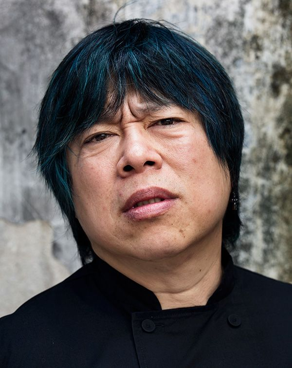 Alvin Leung, the self-proclaimed 'Demon Chef', is British-born and Canadian-raised.