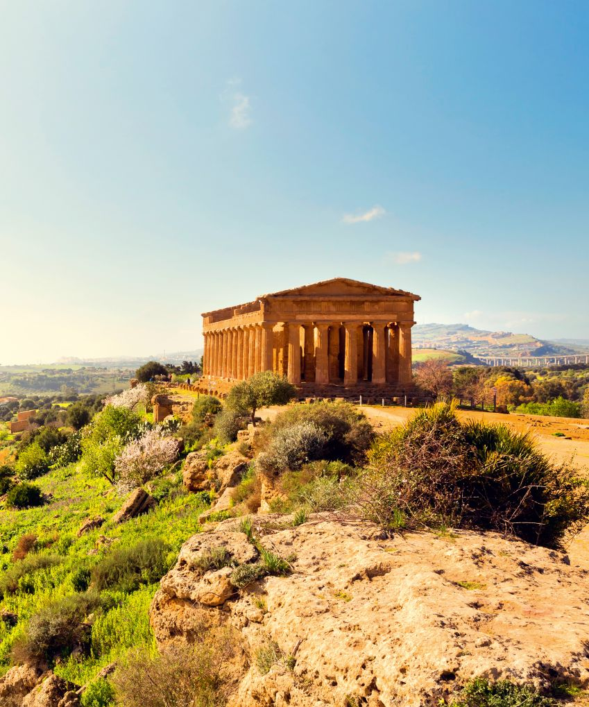 Temple of Concordia. Photo: Shutterstock