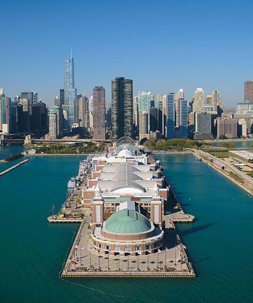 The Navy Pier. Photo: Shutterstock