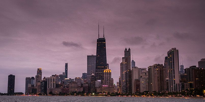 The famous Chicago skyline. Photo: Scott Thompson